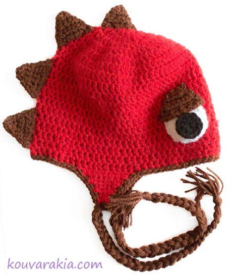 crochet-dino-hat
