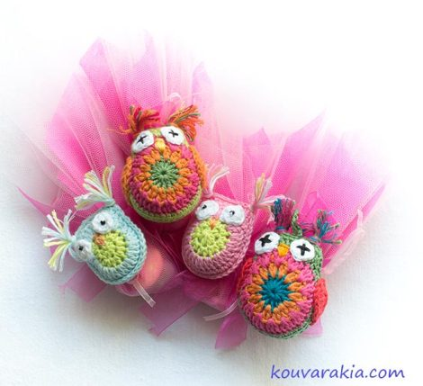 crochet favors