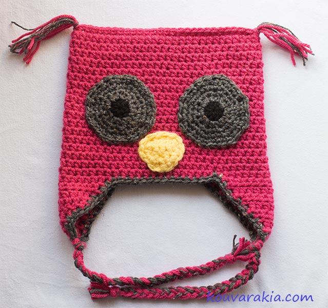 crochet-owl-hat