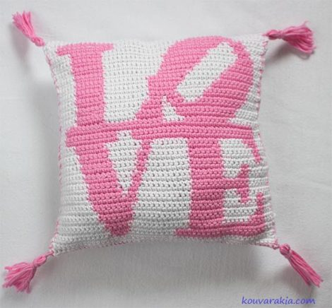crochet-love-pillow